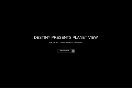 Destiny Planet View Infographic