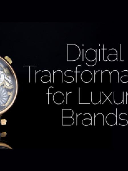 Digital Transformation for Luxury Brands Infographic