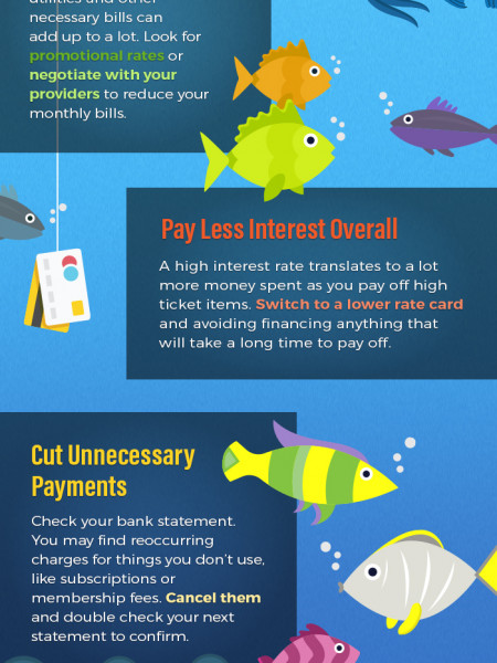 Easy Ways to Eliminate Credit Card Debt Infographic