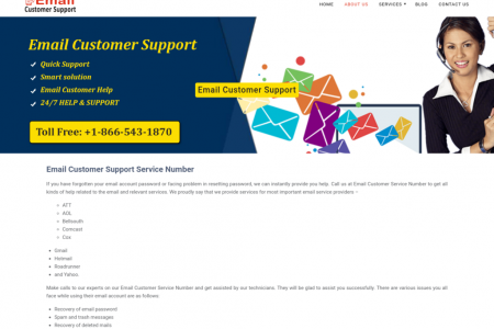 Email Customer Service Number Infographic