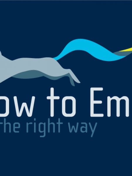 Email The Right Way Infographic