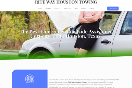 Emergency Auto Towing Service in Houston Infographic