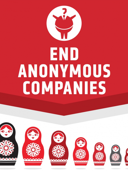 End Anonymous Companies Infographic