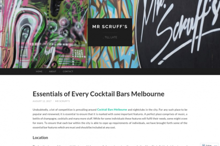 Essentials of Every Cocktail Bars Melbourne Infographic