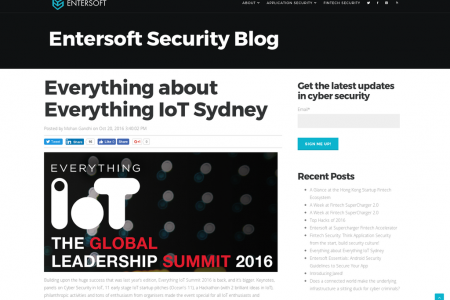 Everything  about everything iot sydney Infographic