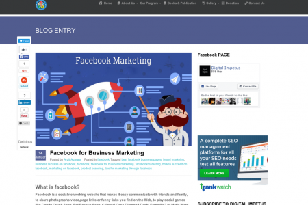 Facebook for Business Marketing Infographic
