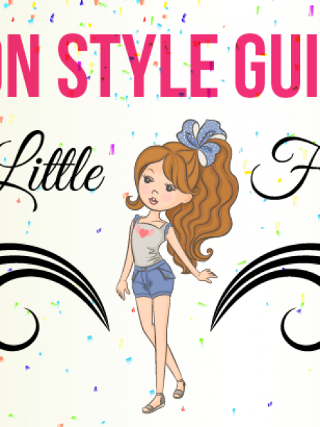 Fashion Style Guide For Your Little Fashionista Infographic Infographic