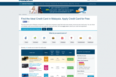 Finding Your Ideal Credit Card in Malaysia Infographic