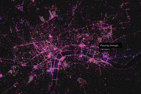 Flickr London Infographic