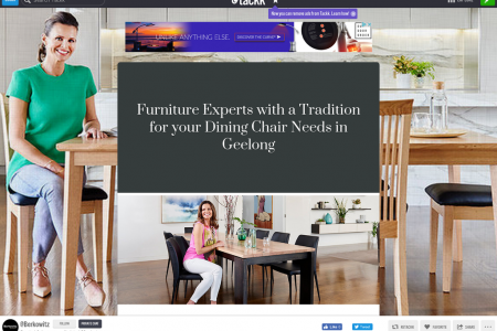 Furniture Experts with a Tradition for your Dining Chair Needs in Geelong Infographic