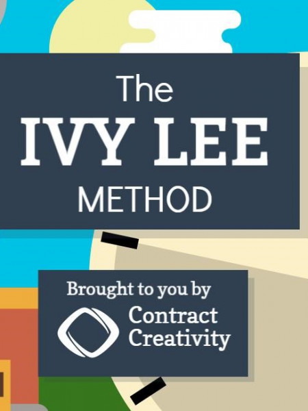 Get More Done With the Ivy Lee Method Infographic