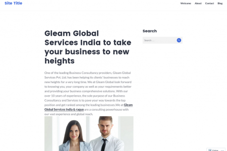 Gleam Global Services India to take your business to new heights Infographic