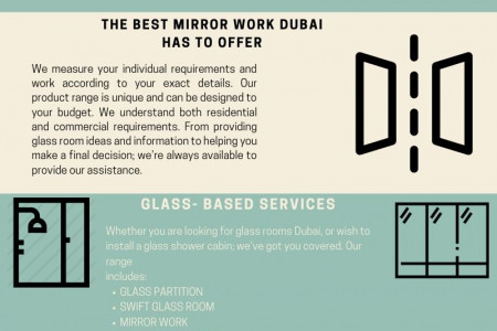 Gorgeous and Impressive Glass Works in Dubai by Al Basira Infographic