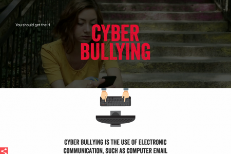 Guide to Cyberbullying  Infographic