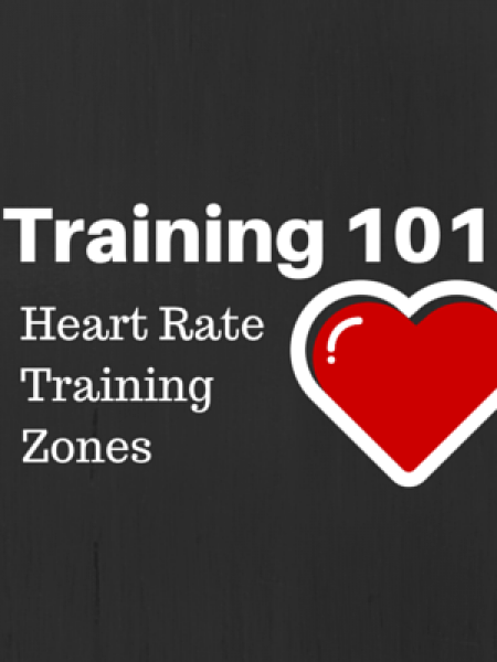 Heart Rate Training Zones Infographic
