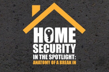 Home Security in the Spotlight Infographic