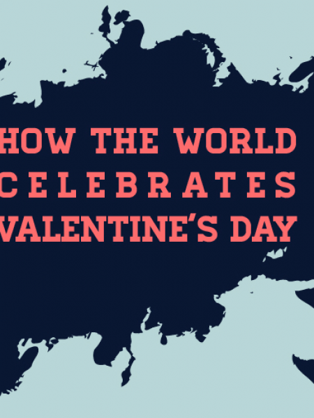 How The World Celebrates Valentine's Day [Infographic] Infographic