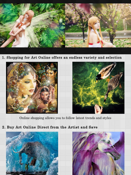 How To Buy Art Online Infographic