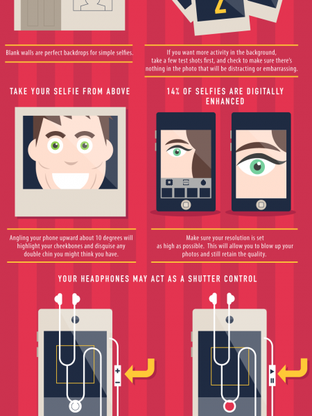 How To Take A Better Selfie Infographic