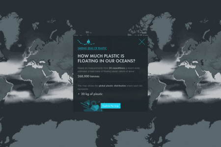 How much plastic is floating in our oceans? Infographic