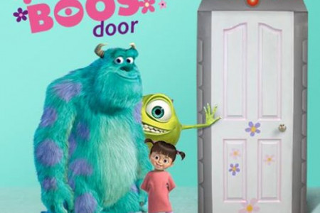 How to Build Boo's Door (Monster's Inc.) Infographic