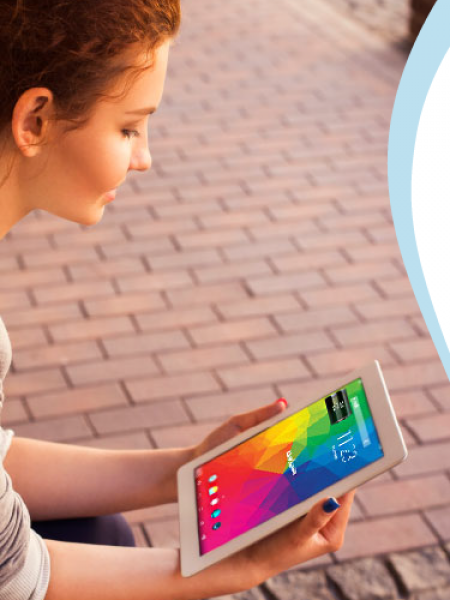 How to Customize Your Wave 8 Tablet Infographic