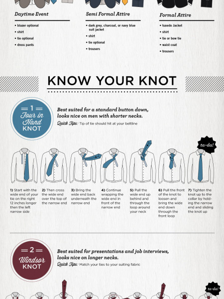 How to Dress Dapper in the Modern Age Infographic