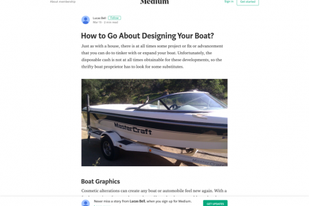 How to Go About Designing Your Boat? Infographic
