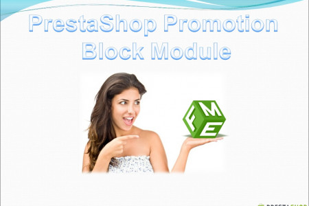 How to Include Promotion Blocks on Your PrestaShop Store? Infographic
