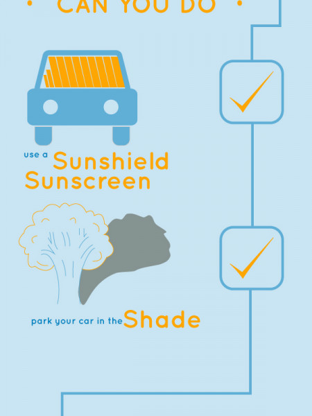 How to Protect Your Car from the Sun Infographic