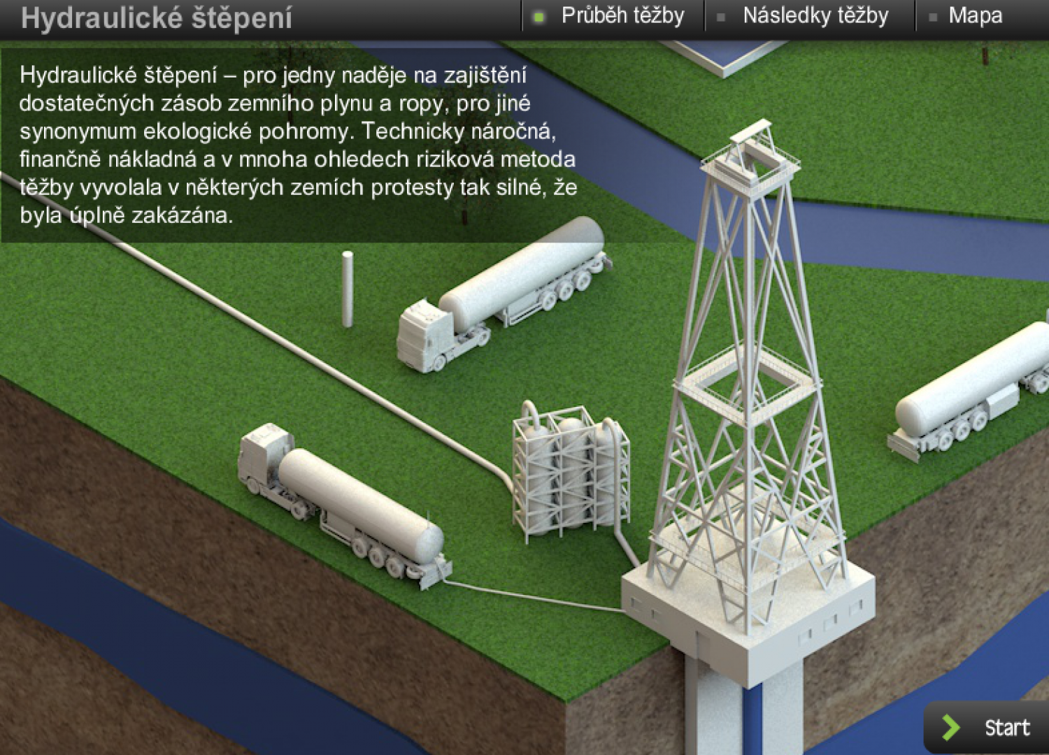 Hydraulic fracturing Infographic