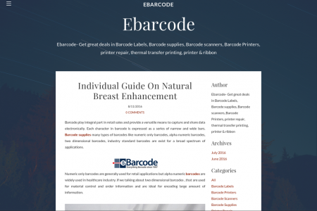 Individual Guide On Barcode Supplies Infographic