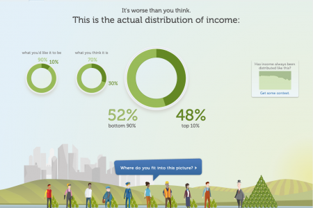 Inequality Is Real Infographic