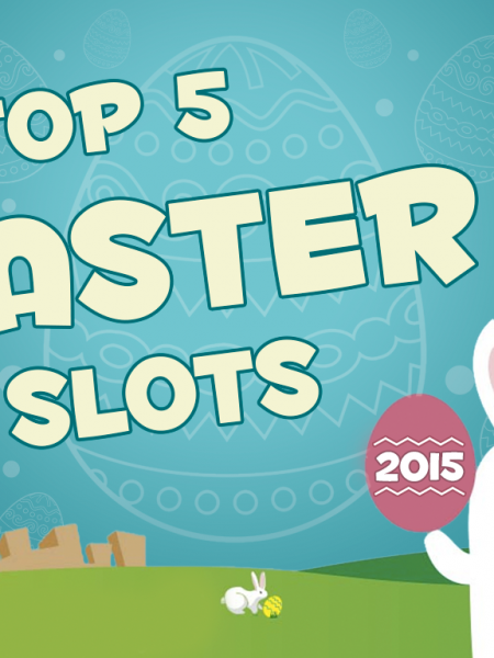 Infographic: TOP 5 Slots to Play on Easter Sunday Infographic