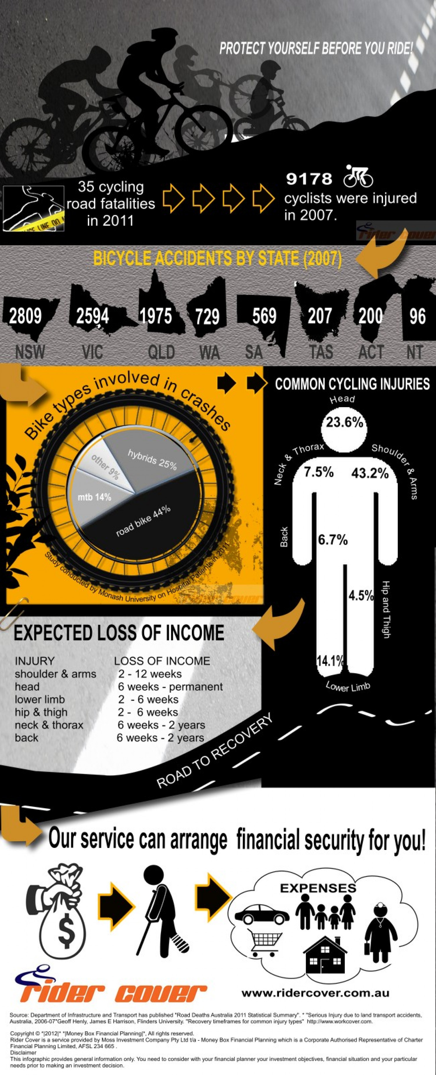 Infographic for Rider Cover  Infographic