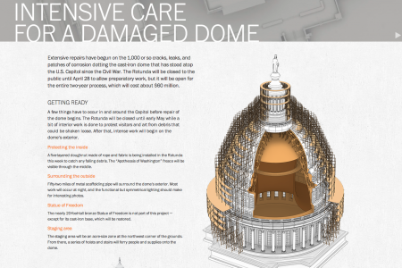 Intensive Care for a Damaged Dome Infographic