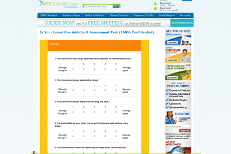 Is Your Loved One Addicted? Assessment Test Infographic
