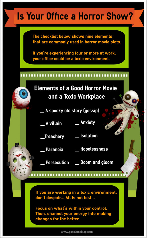 Is Your Office a Horror Show?
