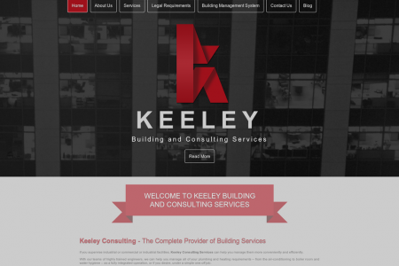 Keeley Consulting Services - The Complete Provider of Building Services Infographic
