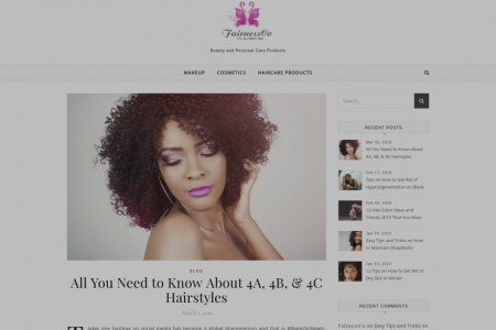 Know About 4A, 4B, & 4C Hairstyles  Infographic