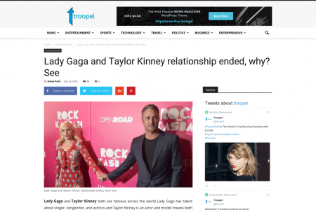 Lady Gaga and Taylor Kinney relationship ended, why? See Infographic