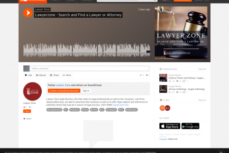 Lawyerzone -Search and Find a Lawyer or Attorney Infographic