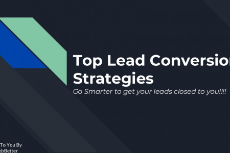 Lead Conversion Strategies- A way to win prospects !! Infographic