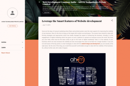 Leverage the Smart features of Website development  Infographic