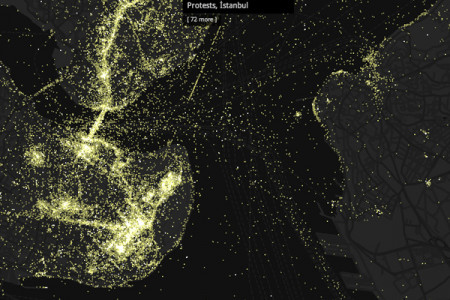Luminous Cities - Flickr Cities Infographic