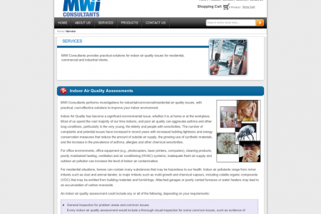 MWI Consultants Workplace Exposure Assessments Infographic