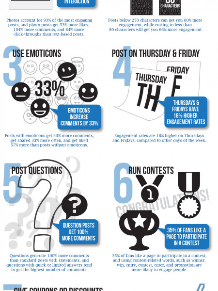 Making Your Facebook Posts Matter: 7 Statistics that Can Raise Your Engagement Rate Infographic