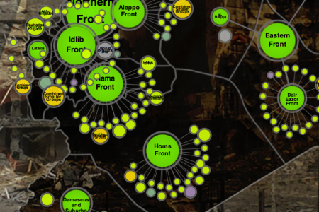 Mapping Syria's rebellion Infographic