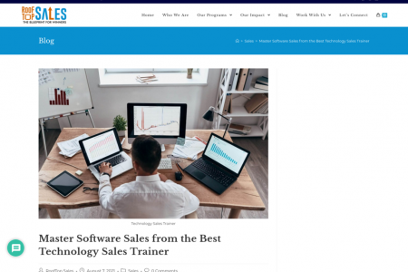 Master Software Sales from the Best Technology Sales Trainer Infographic