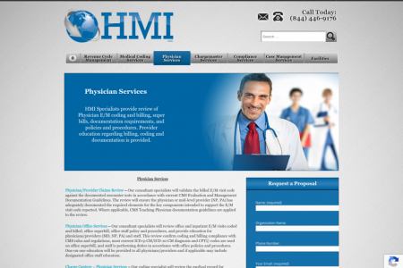 Medical Billing and Coding Services & Training for Physician Infographic
